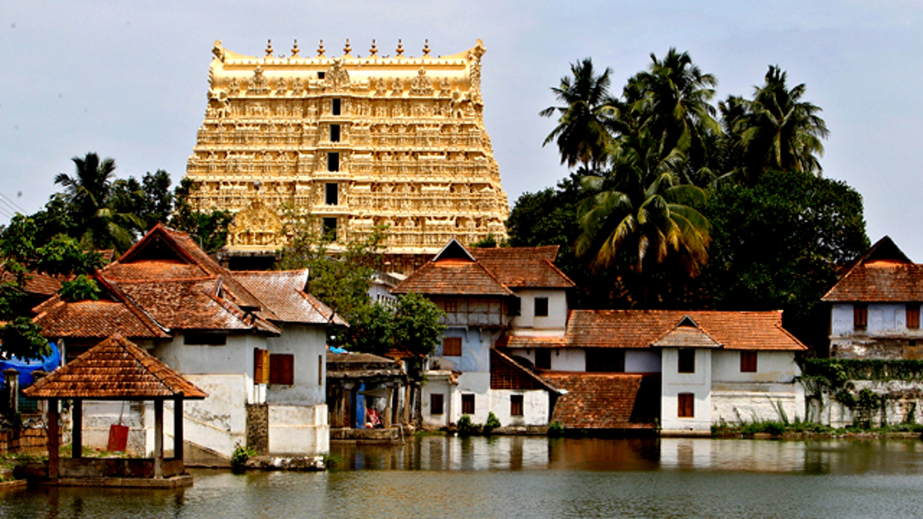 July 5, 2011: A vast treasure trove revealed in recent days has instantly turned the 16th-century Sree Padmanabhaswamy Temple into one of the wealthiest religious institutions in India.
