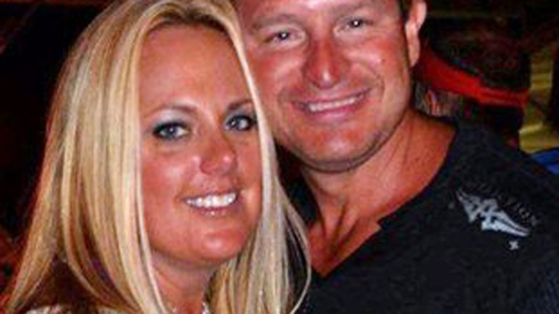 Mar. 5, 2012: This photo shows Joe Decker with his 36-year-old wife, Stephanie Decker.