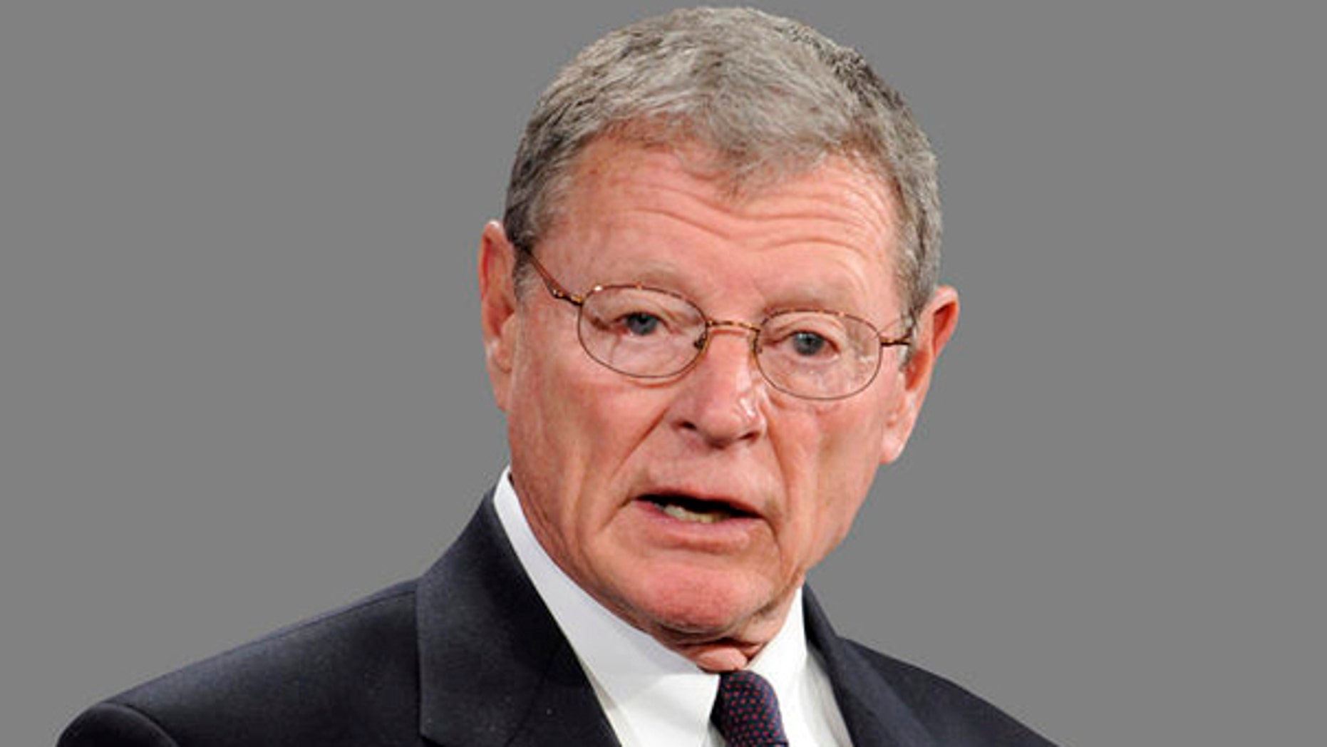 FILE: Sen. James Inhofe, the top Republican on the Environment and Public Works Committee. (AP)