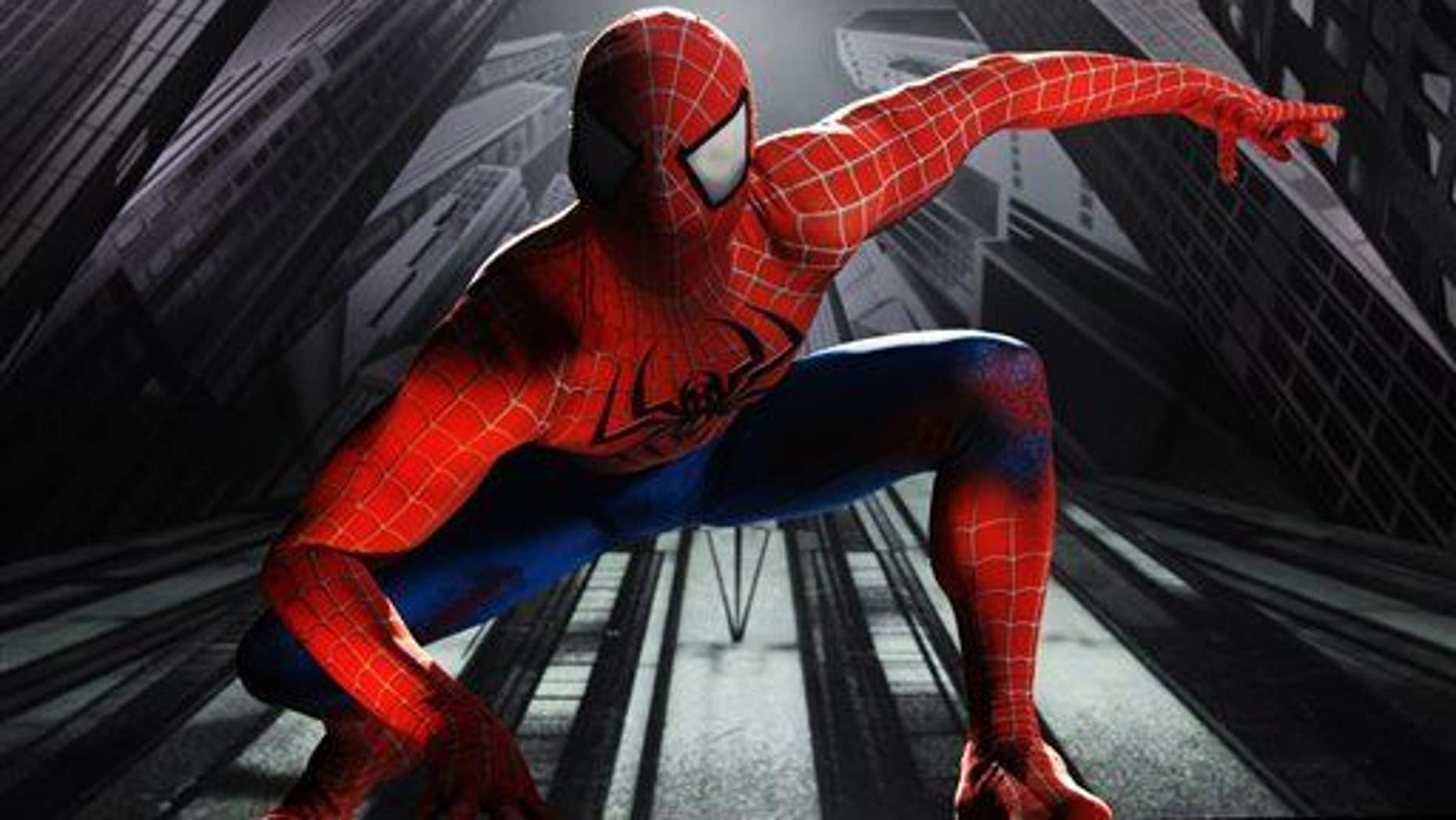 """Reads the obit, """"Civilians will recognize him best as Spider-Man, and thank him for his many years of service protecting our city."""""""