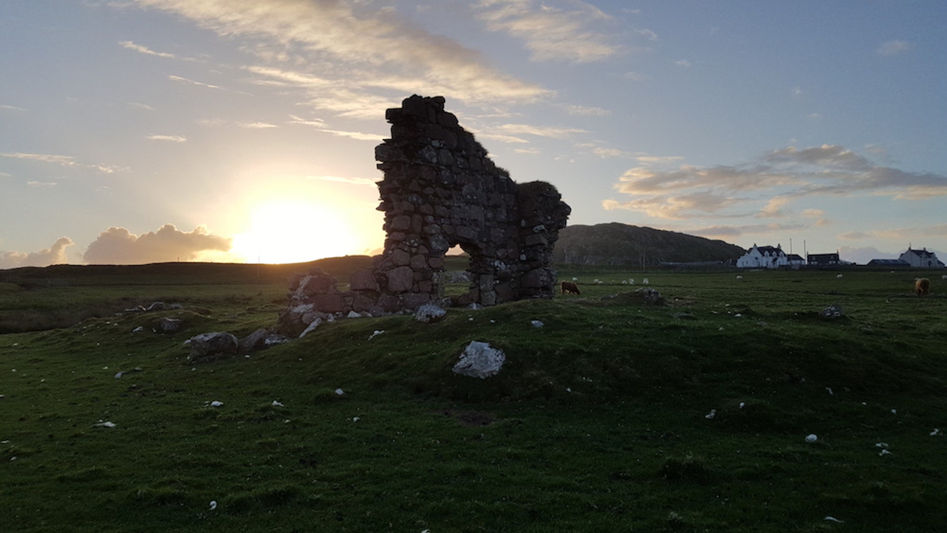 Archaeologists say remnants excavated from a small, rocky hill in Iona have been confirmed to be from the time period during which St. Columba lived.