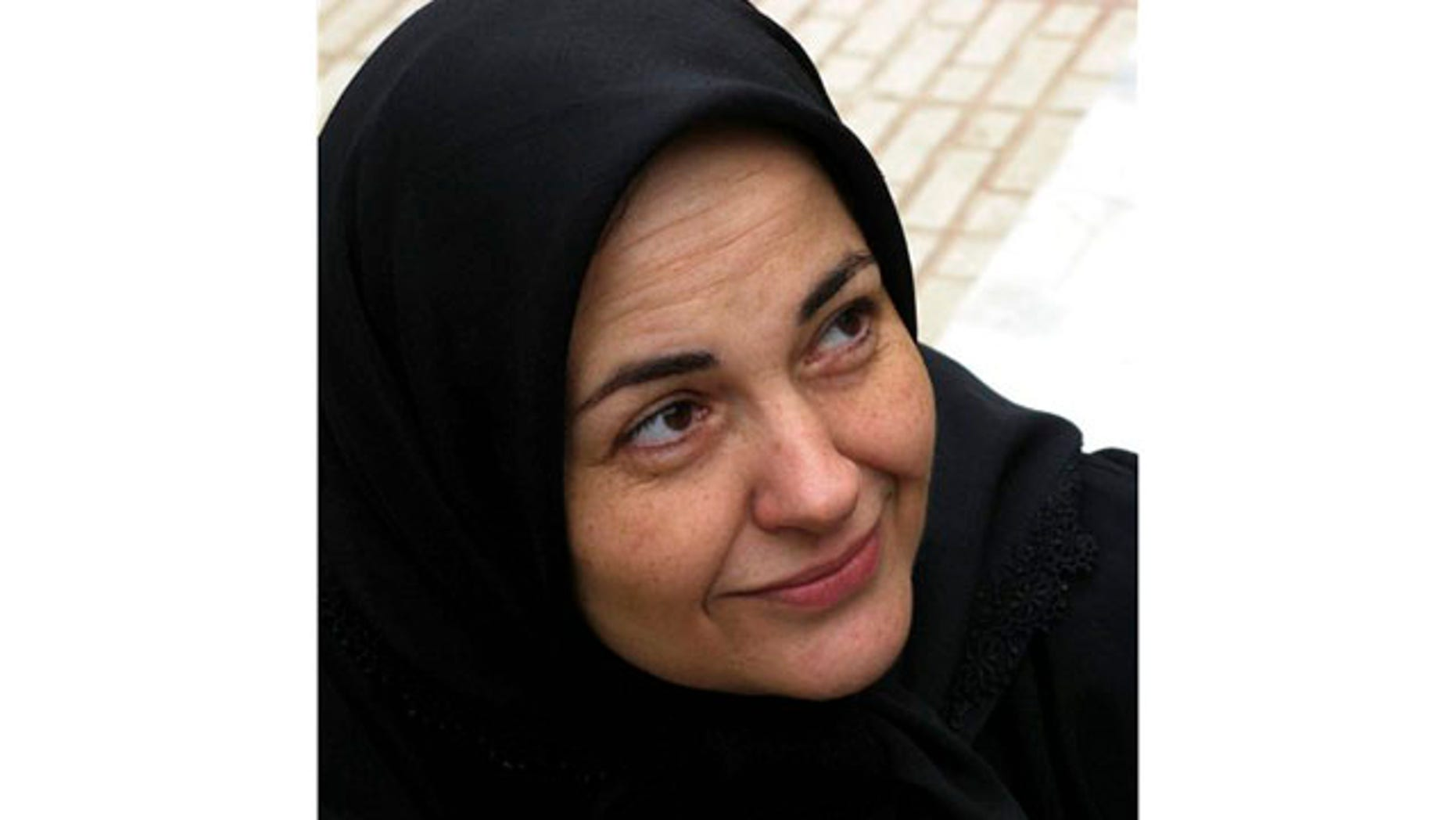 Undated picture allegedly shows Haleh Sahabi in an undisclosed location.