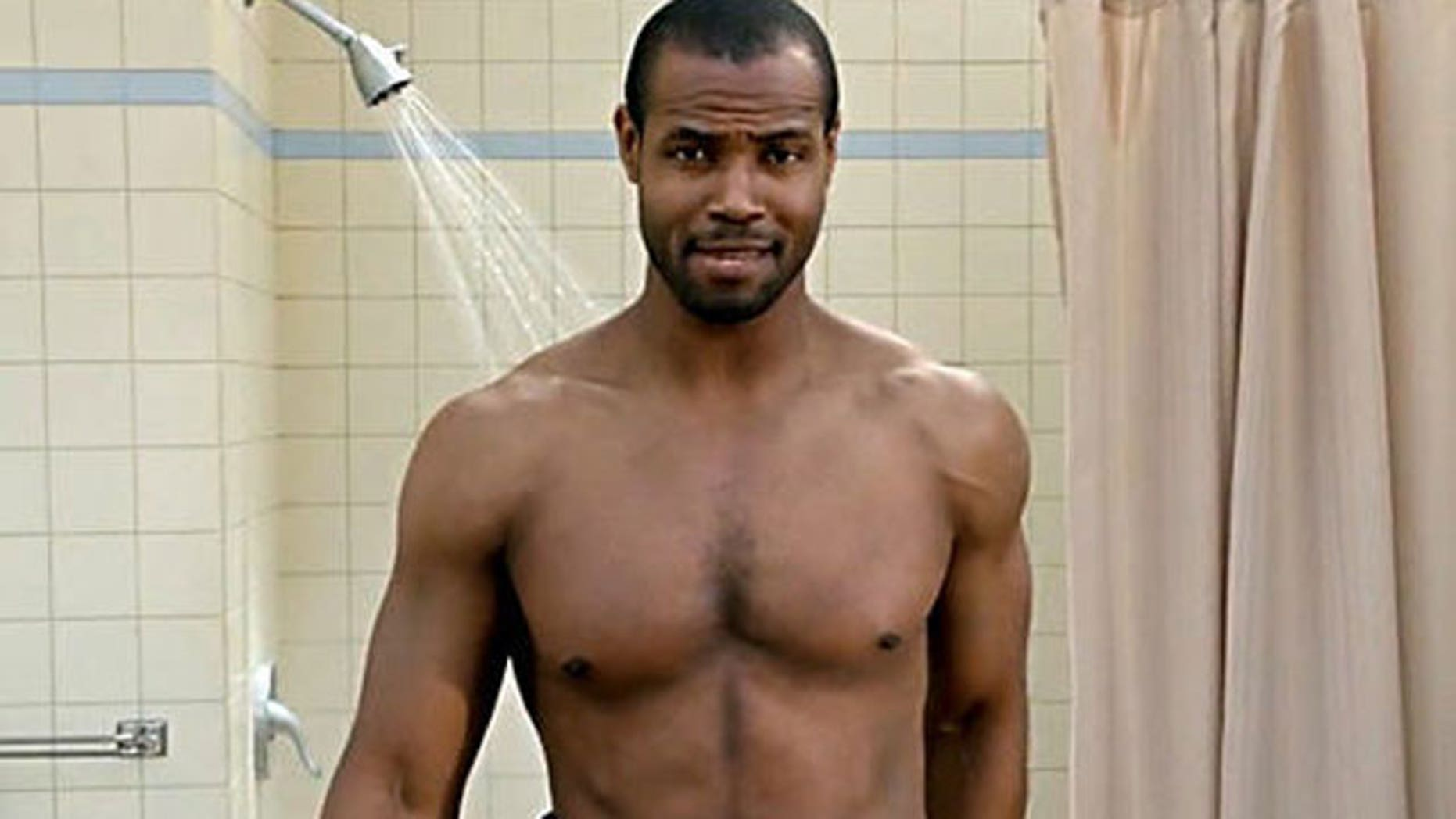 Isaiah Mustafa is seen in one of his Old Spice ads. (Old Spice)