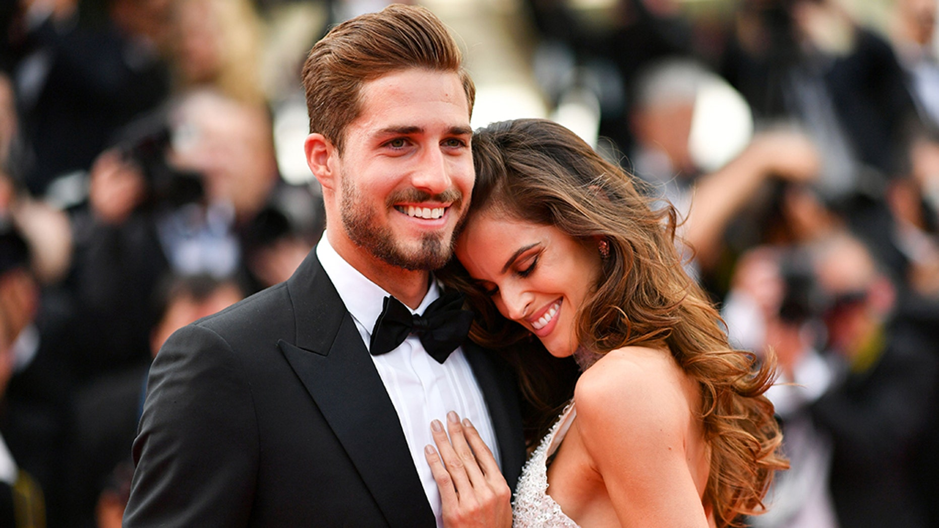Izabel Goulart and her boyfriend Kevin Trapp revealed they're getting married by posting a video on their Instagram accounts this week.