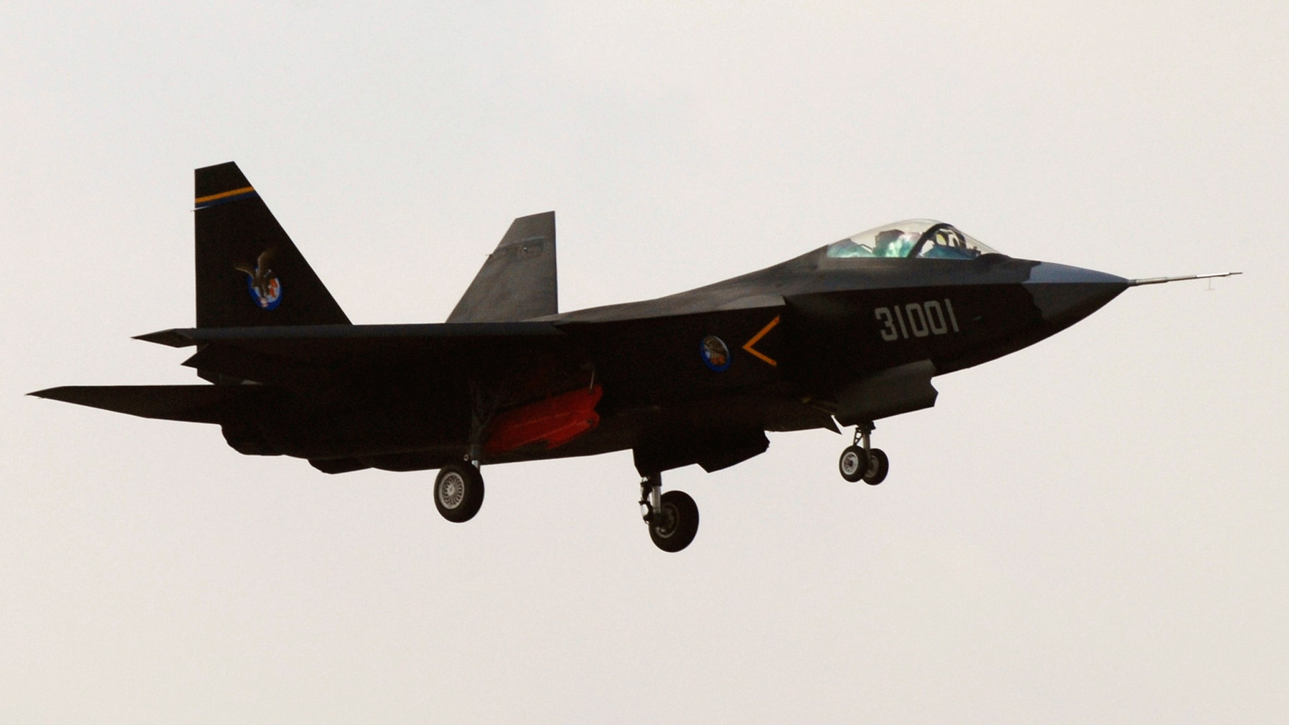 October 31, 2012: The J-31, or Falcon Hawk, participates in a test flight in Shenyang, Liaoning province, China.
