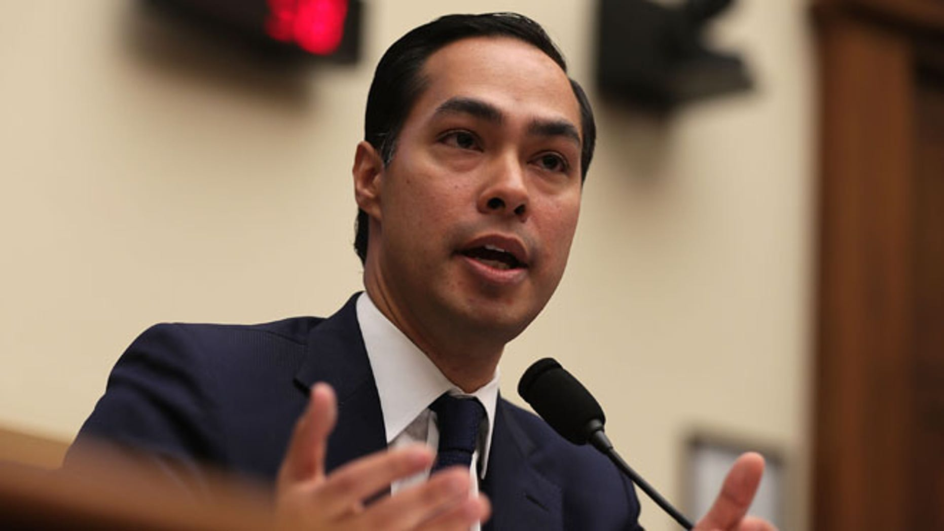 U.S. Secretary of Housing and Urban Development (HUD) Julian Castro on July 13, 2016 on Capitol Hill.