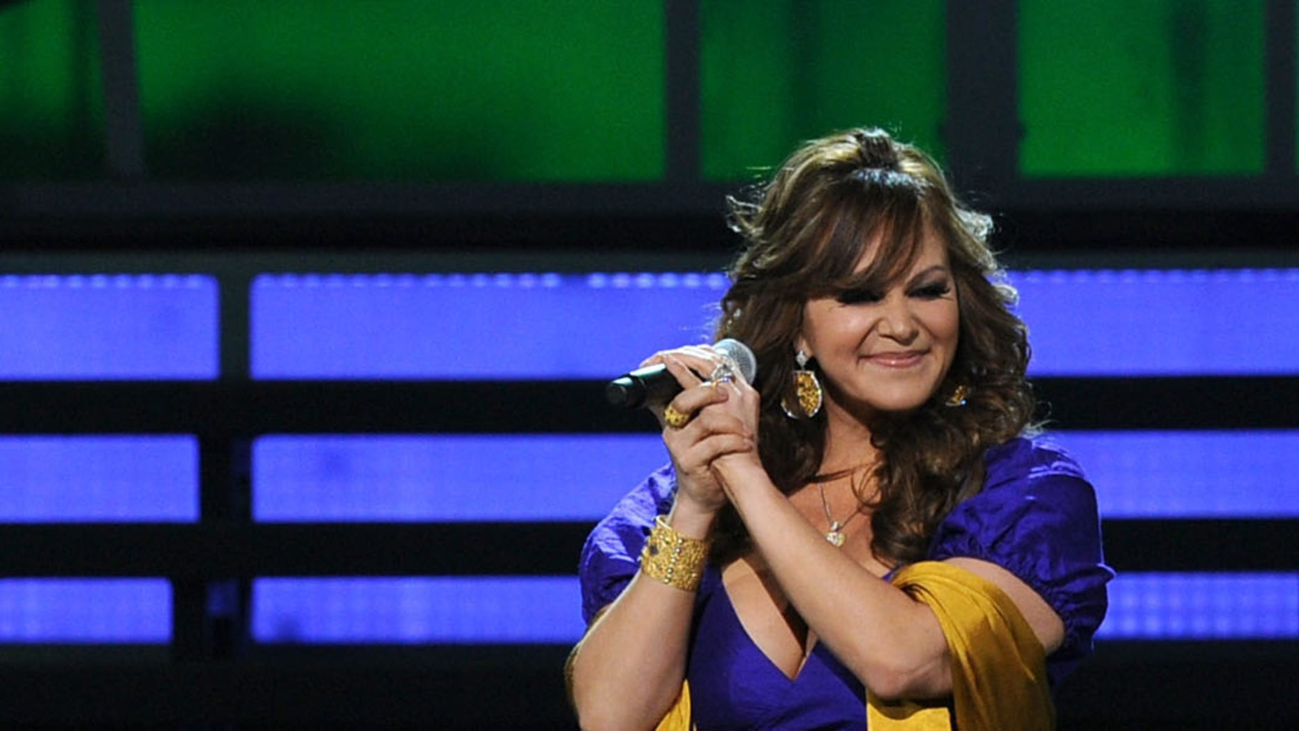 LAS VEGAS - NOVEMBER 11:  Singer Jenni Rivera performs onstage during the 11th annual Latin GRAMMY Awards at the Mandalay Bay Events Center on November 11, 2010 in Las Vegas, Nevada.  (Photo by Kevin Winter/Getty Images for LARAS)