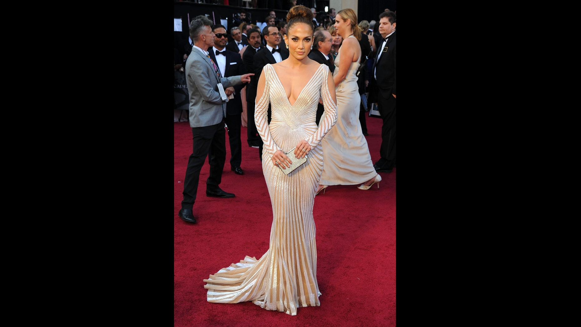 Feb. 26, 2012: Jennifer Lopez arrives at the 84th Annual Academy Awards held at the Hollywood & Highland Center in Hollywood, Calif.