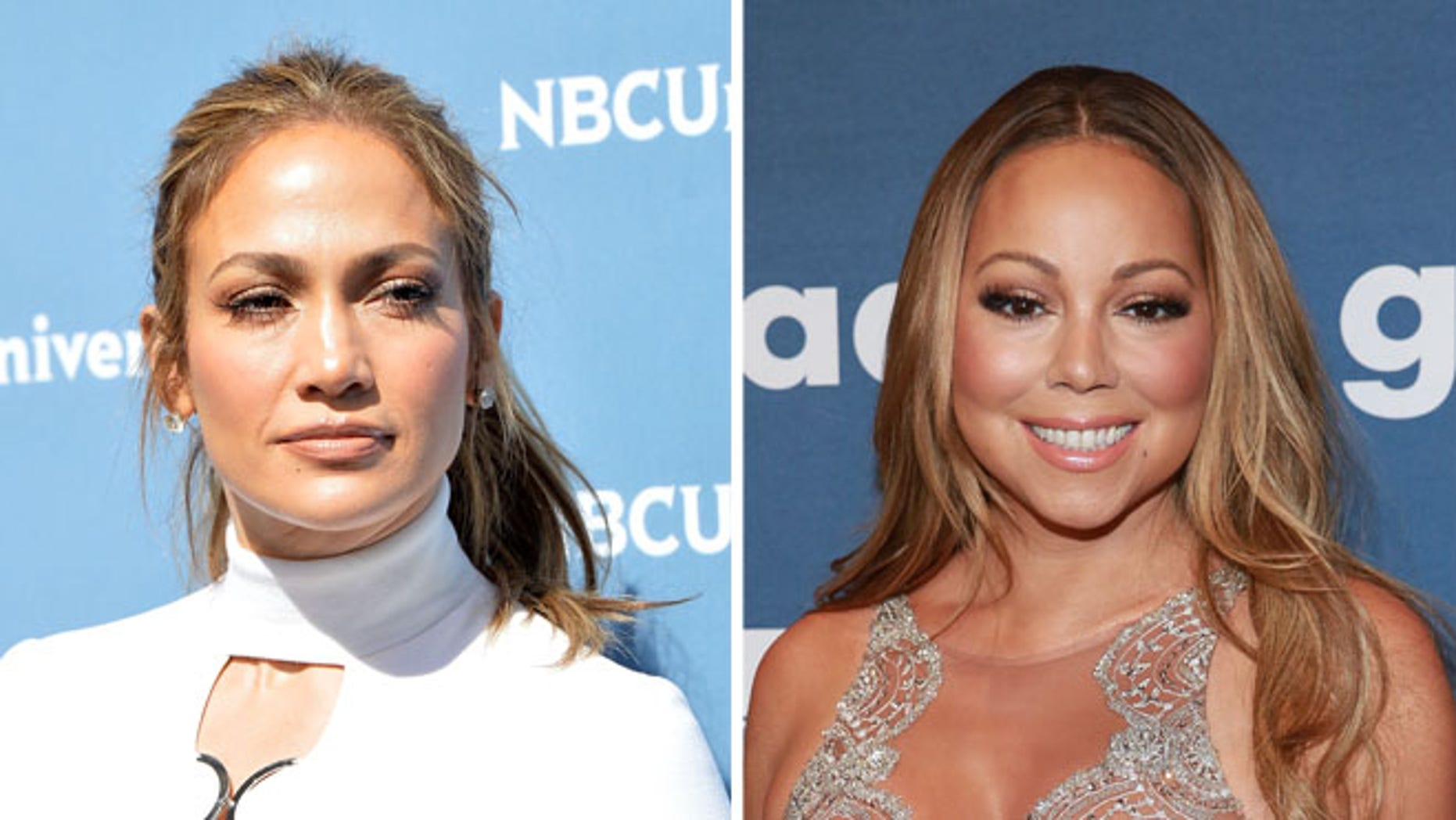 Jennifer Lopez and Mariah Carey. (Photos: Getty Images)