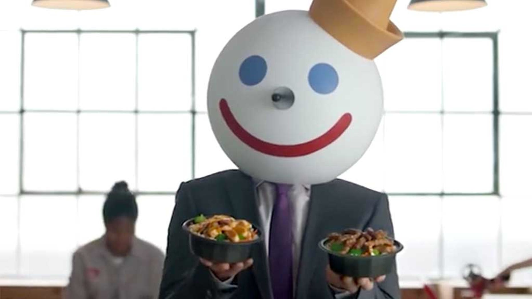 A Jack in the Box ad has come under fire for its sexual innuendos.