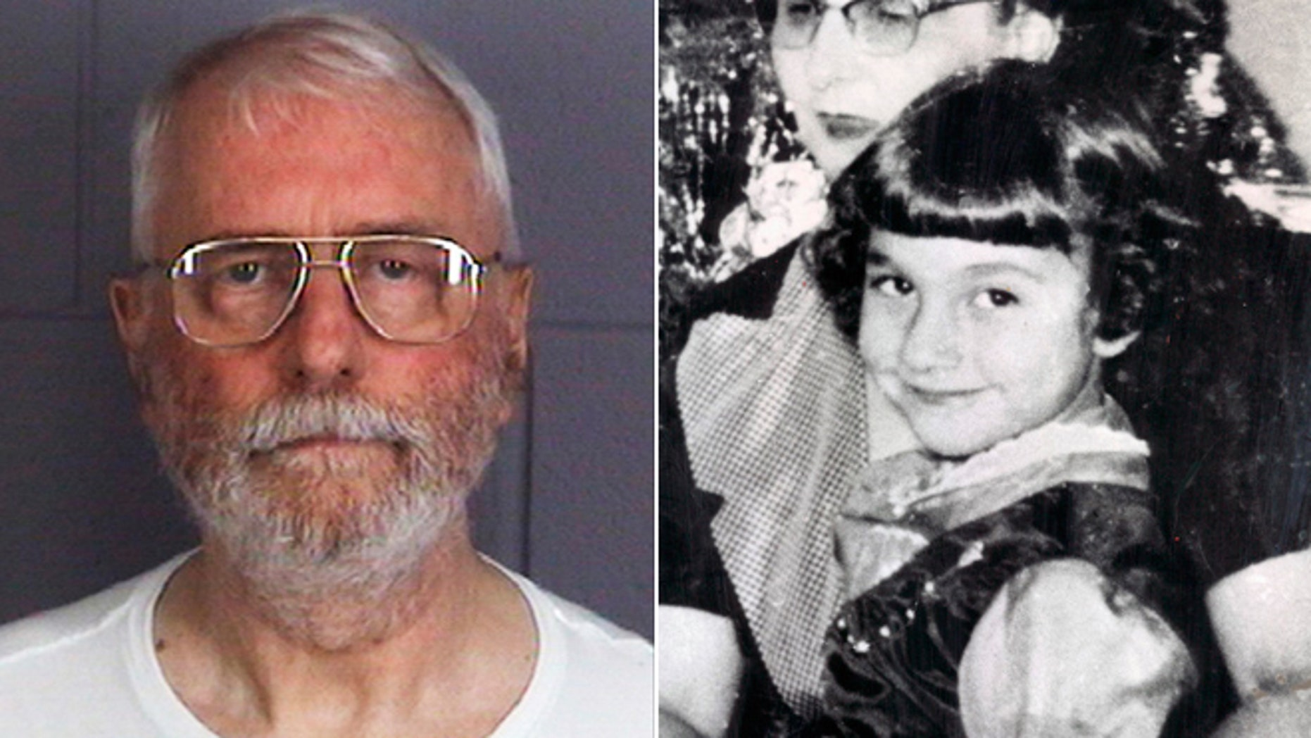Jack McCullough, of Seattle, in 2011, and an undated photo of Maria Ridulph with family members in Illinois.