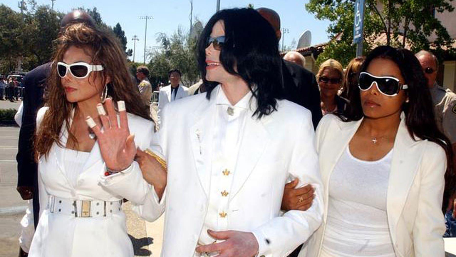 Latoya, Michael and Janet Jackson