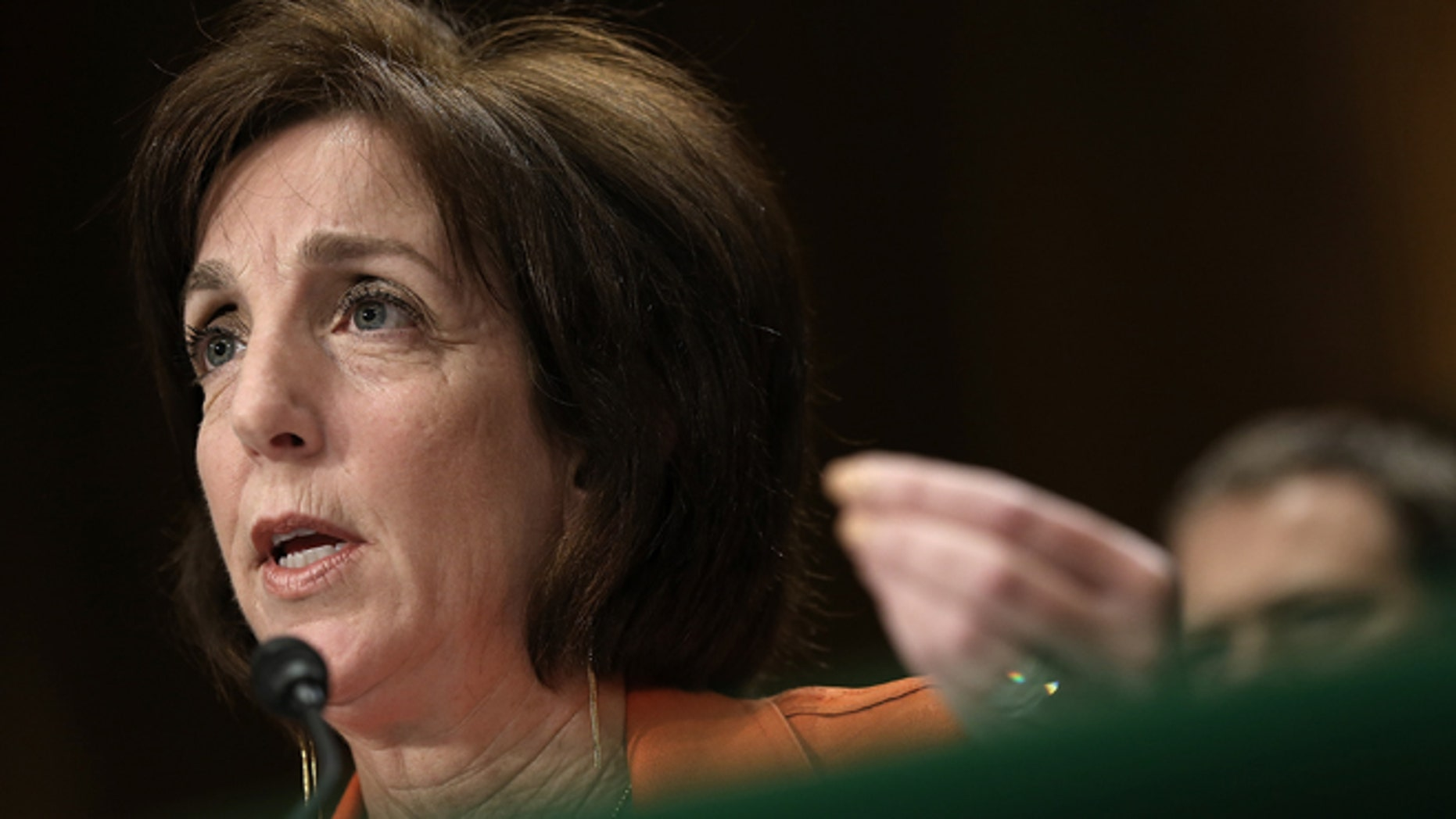 """WASHINGTON, DC - MAY 20: Assistant U.S. Secretary of State for Western Hemisphere Affairs Roberta Jacobson testifies before the Senate Foreign Relations Committee May 20, 2015 in Washington, DC. The committee heard testimony on the topic of """"U.S. Cuban Relations - The Way Forward."""" (Photo by Win McNamee/Getty Images)"""