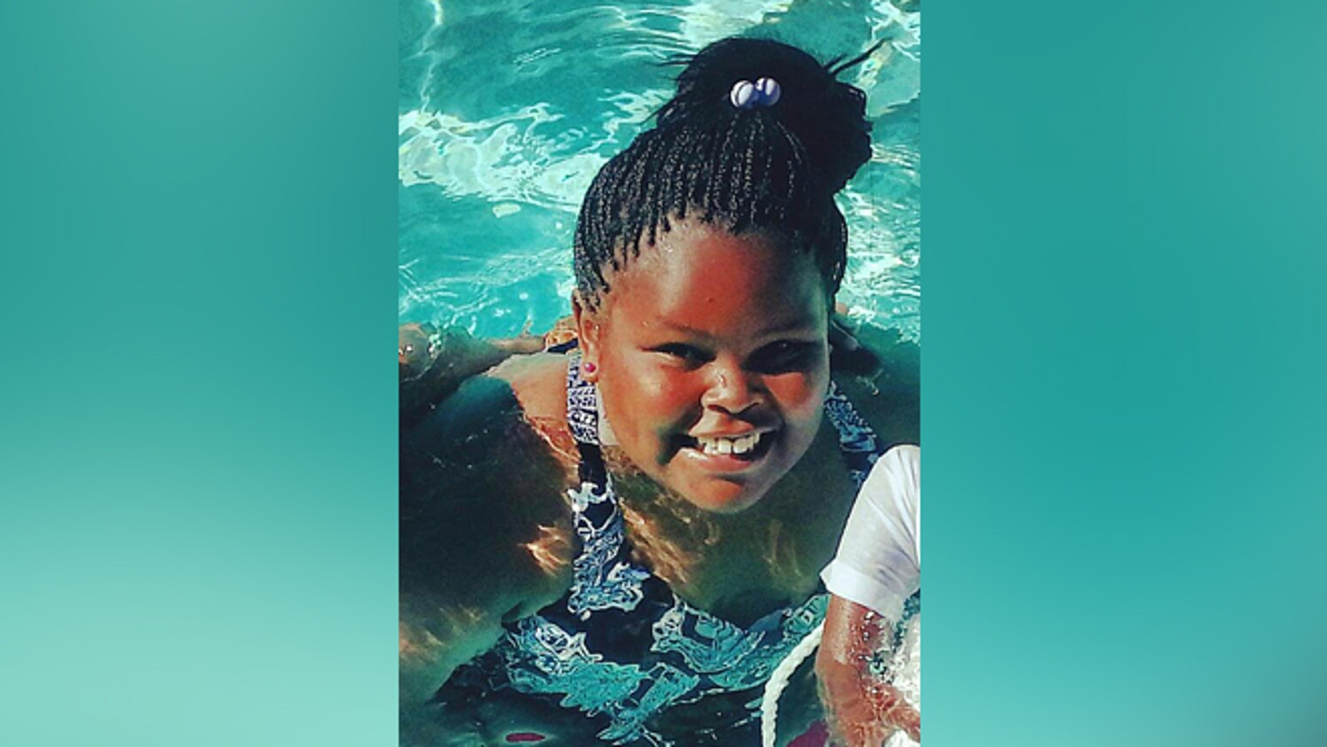 This undated photo shows Jahi McMath who remains on life support at Children's Hospital Oakland following a supposedly routine tonsillectomy. (AP Photo/Courtesy of McMath Family and Omari Sealey)