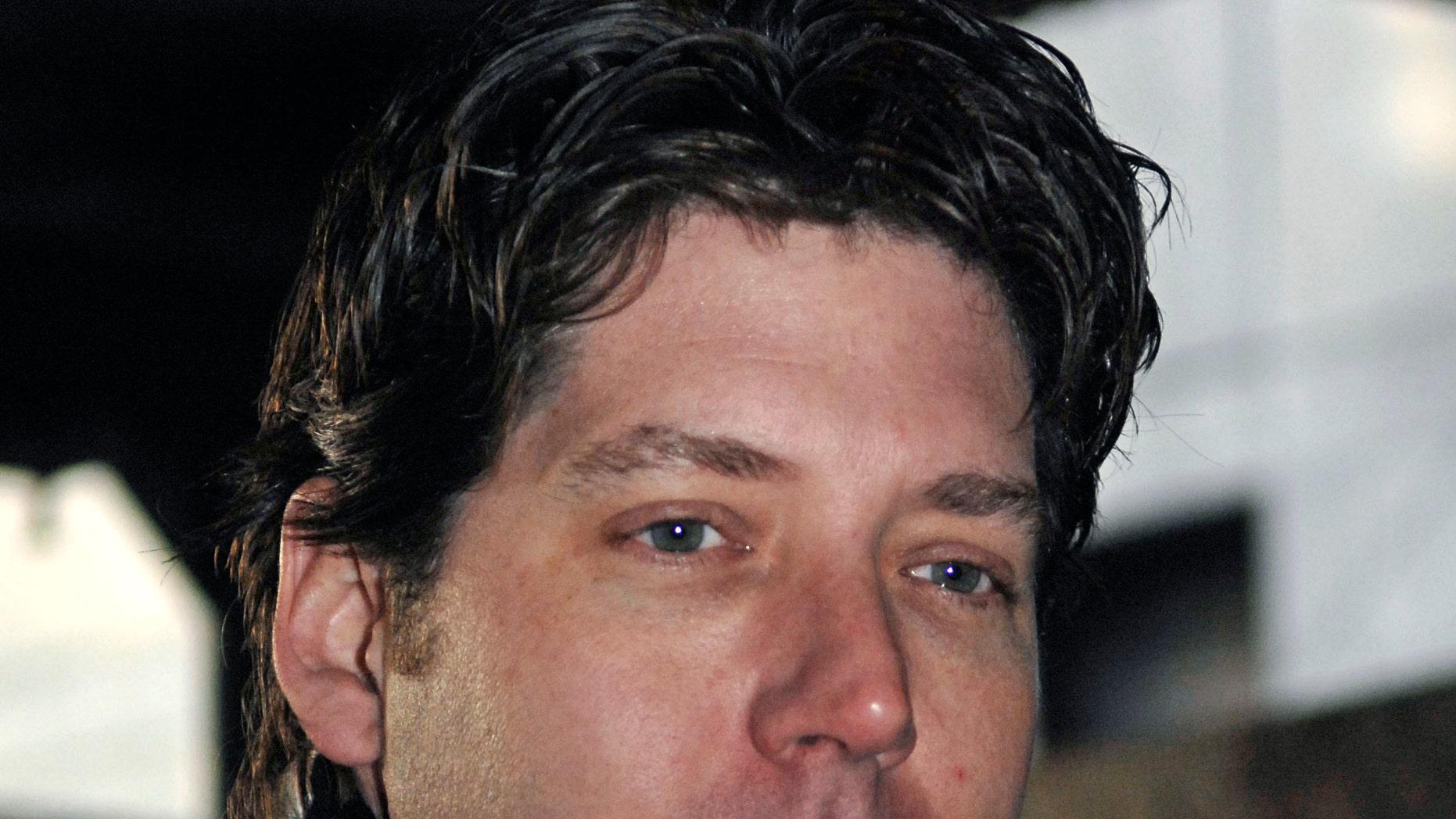 FILE - Actor James Barbour enters Manhattan criminal court, Wednesday, Dec. 6, 2006, in New York.