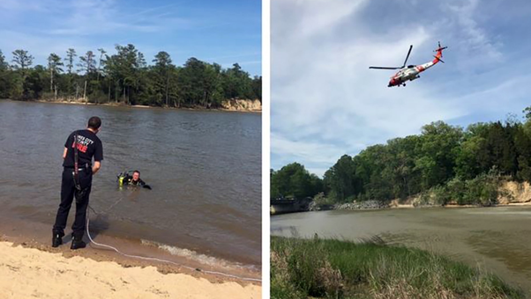 Emergency crews' efforts to rescue a man who did not resurface while swimming at College Creek turned to a recovery mission on Friday.