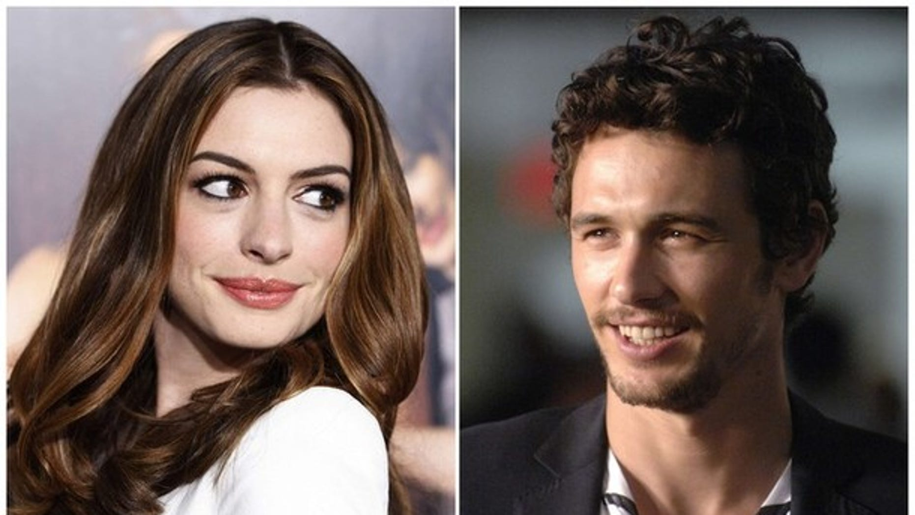 Anne Hathaway and James Franco will host the upcoming Oscars.