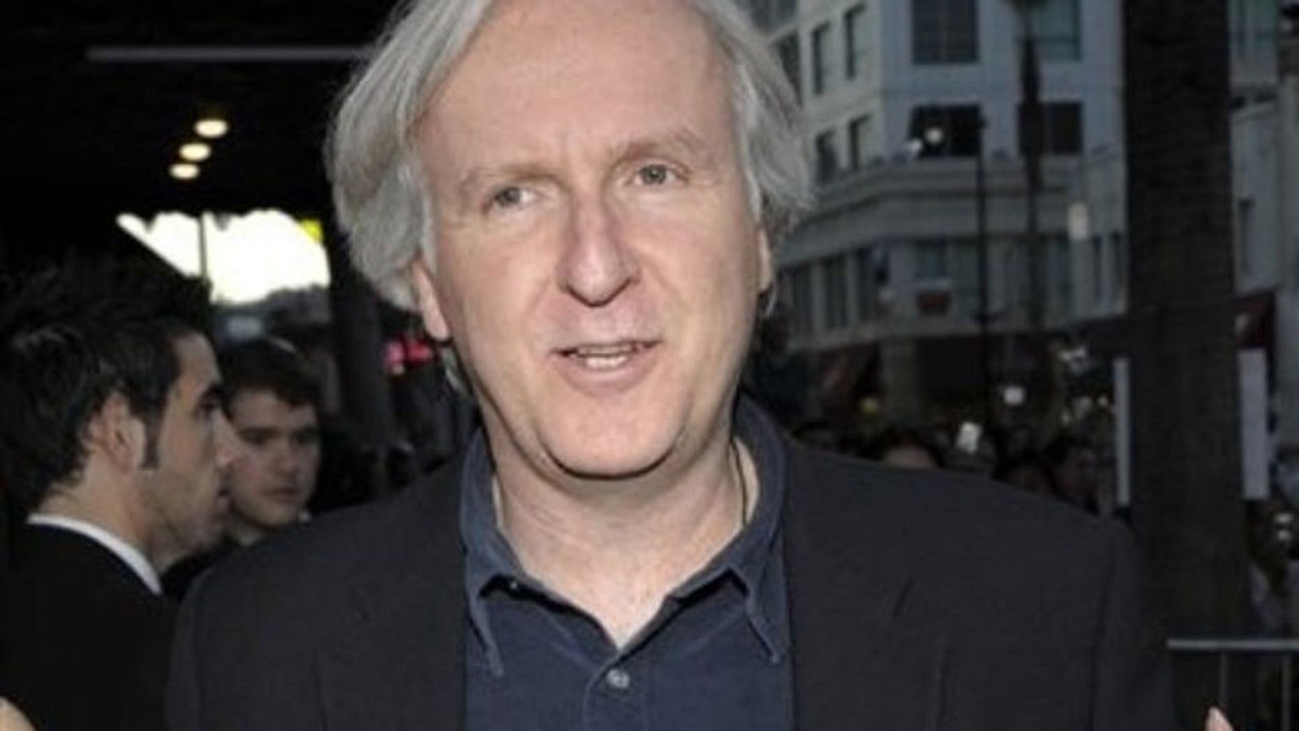 Director James Cameron is seen in this file photo (AP)