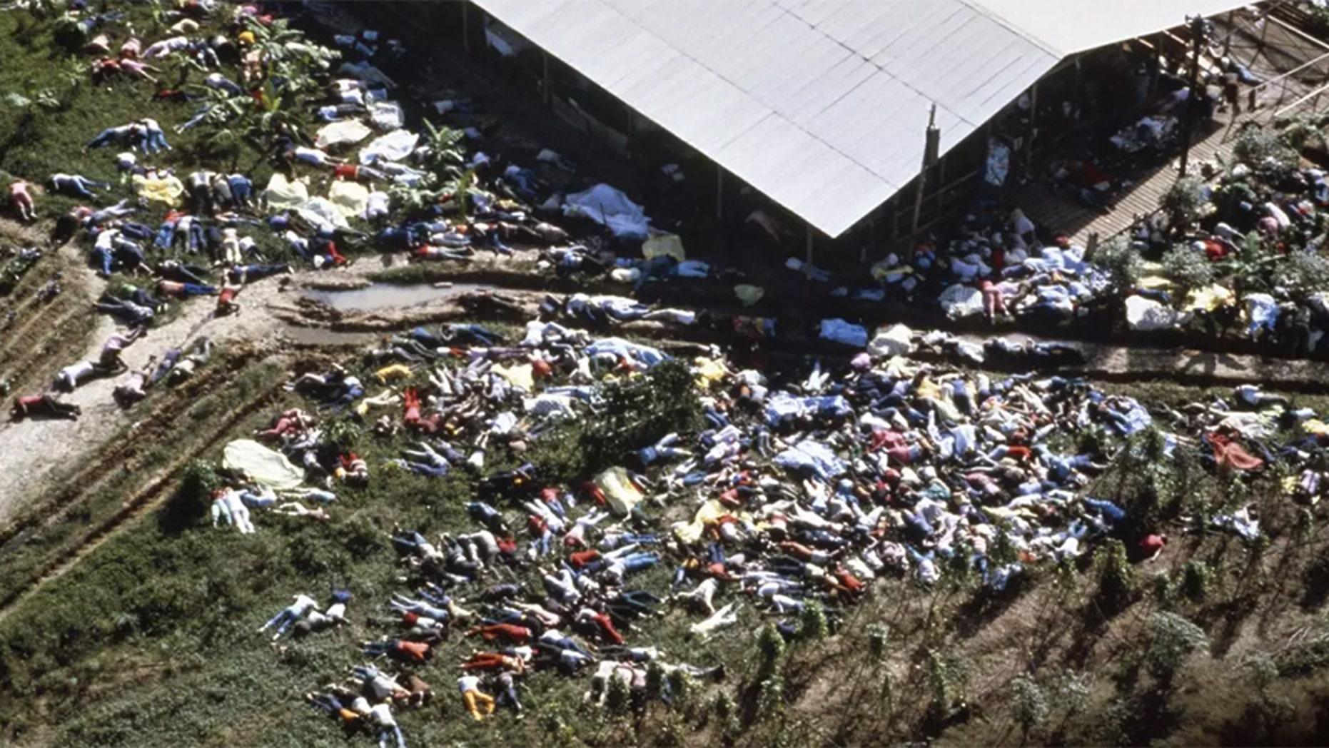 More than 900 people died in the Jonestown massacre in 1978.