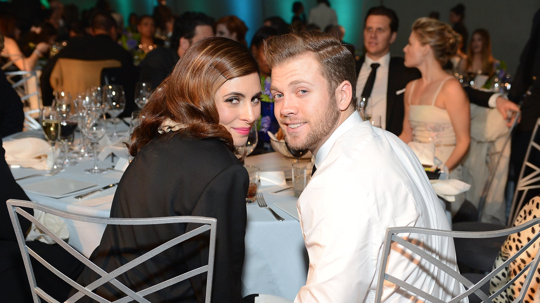 Actress Jamie-Lynn Sigler and Cutter Dykstra attend The Art of Elysium's 6th Annual HEAVEN Gala on January 12, 2013 in Los Angeles, California.
