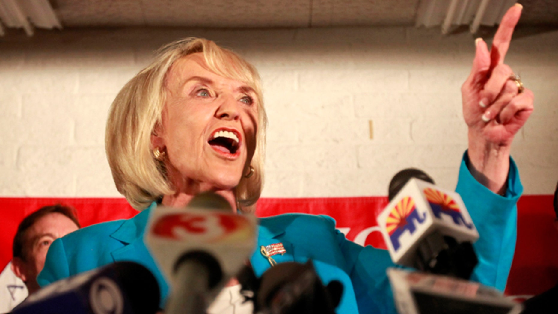 FILE: Arizona Gov. Jan Brewer has been fighting multiple fronts in the state's efforts to enact an immigration law opposed by the federal government.