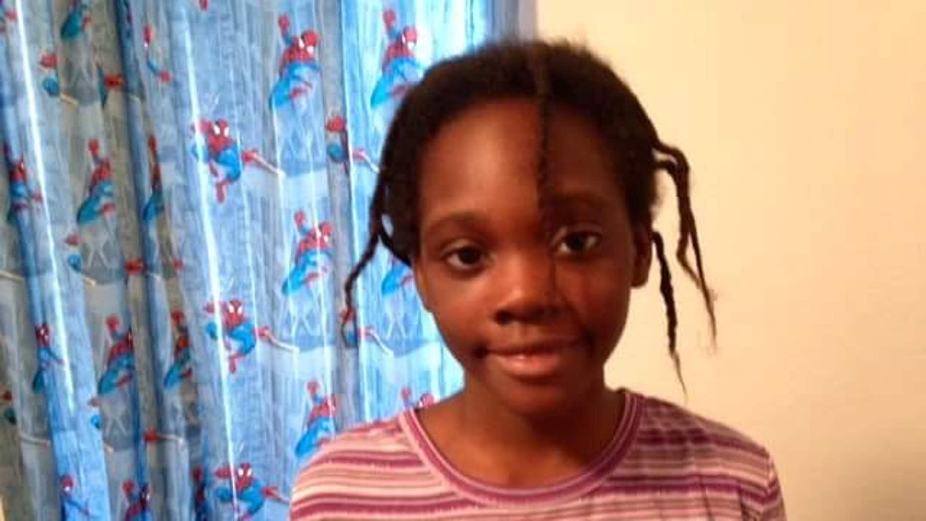 Undated photo of Janiya Thomas, 11, of Bradenton, Florida, who was last seen in September 2014. (Bradenton Police)