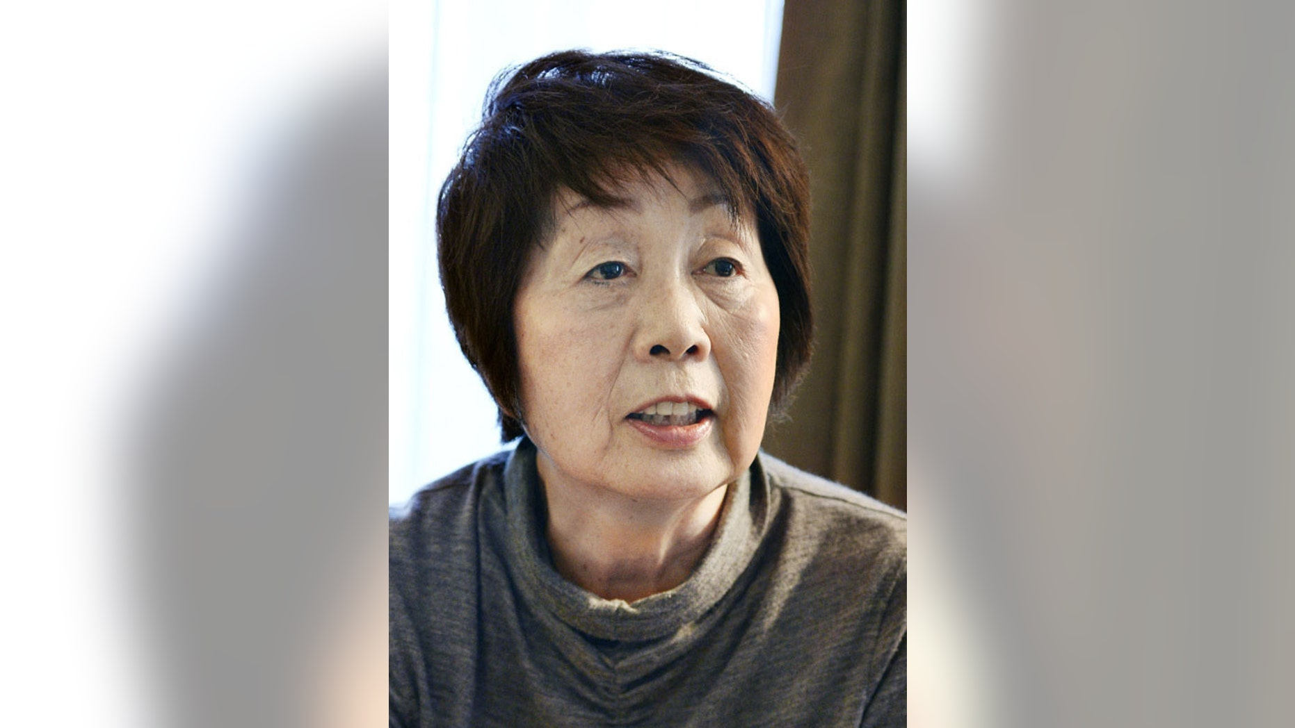 This undated photo shows Chisako Kakehi. Japanese prosecutors have charged 68-year-old Kakehi with murder, weeks after police arrested her on suspicion of poisoning her latest husband, one of six men who had died while in relationship with her over the past 20 years. Kakehi has denied responsibility in the deaths. Japanese public broadcaster NHK says Kyoto district prosecutors indicted Kakehi on Wednesday, Dec. 10 over the death of her 75-year-old husband, Isao. (AP Photo/Kyodo News) JAPAN OUT, CREDIT MANDATORY
