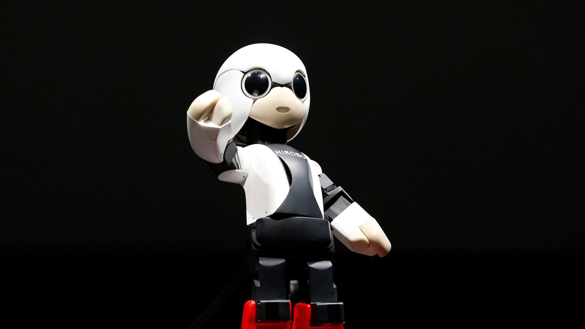Humanoid communication robot Kirobo moves during its unveiling in Tokyo June 26, 2013.