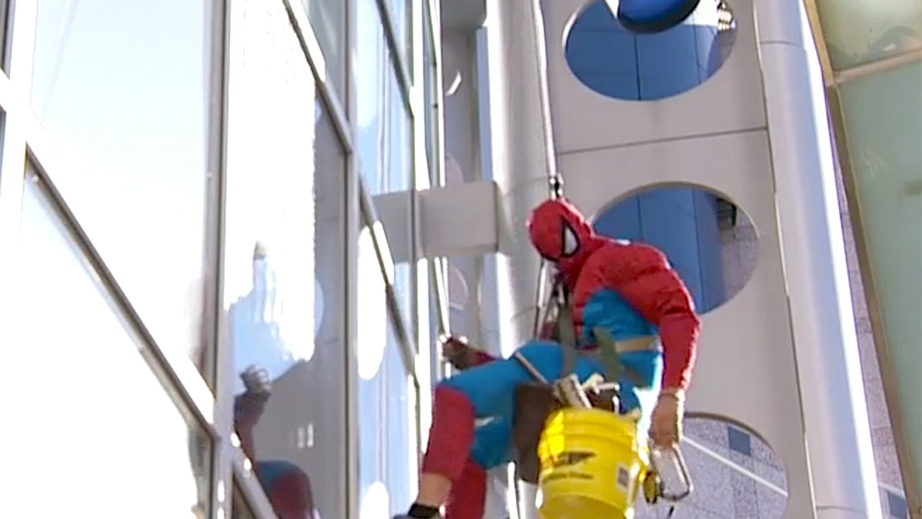 Jarratt A. Turner, who would dress up as Spider-Man and wash windows at local children's hospitals, was sentenced to 105 years in prison for child pornography.