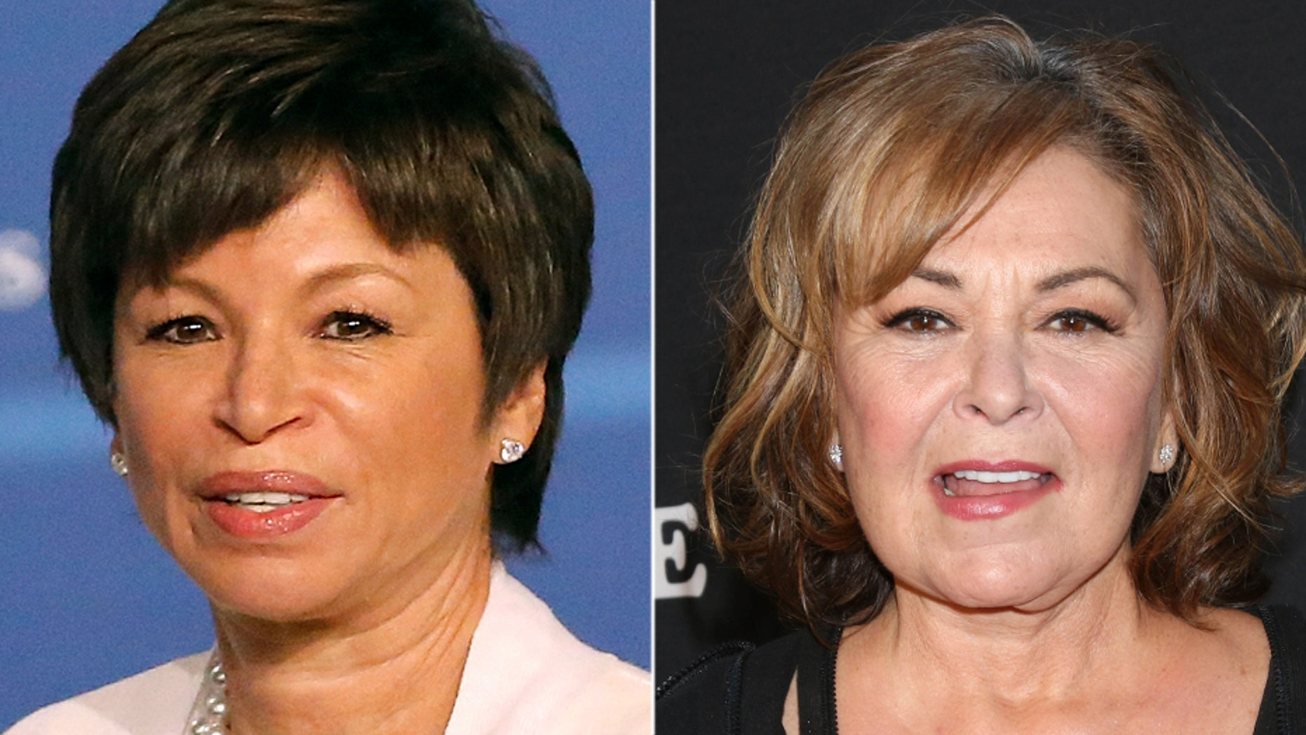 "Former Obama administration official Valerie Jarrett said Roseanne Barr's racist sentiments about her, posted to Twitter on Tuesday, should be used as a ""teaching moment."""