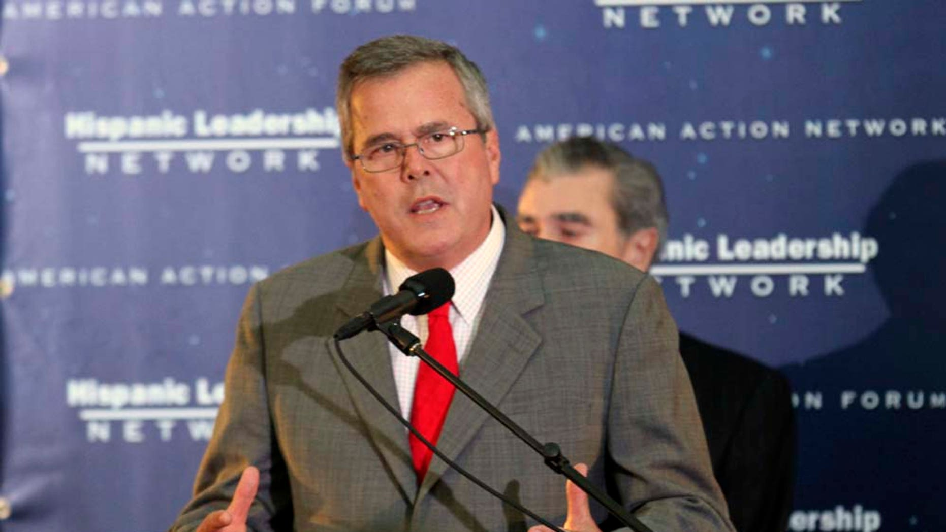 Former Florida Gov. Jeb. Bush will co-chair the Hispanic Leadership Network conference in Florida on Jan. 26.