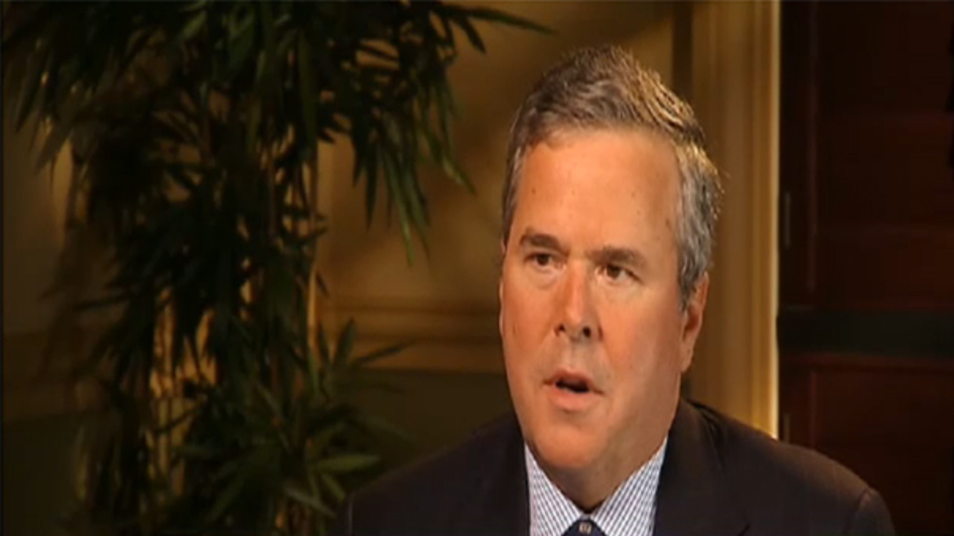 Former Florida Gov. Jeb Bush speaks to Fox & Friends in a rare interview, February 18, 2010. (FNC)