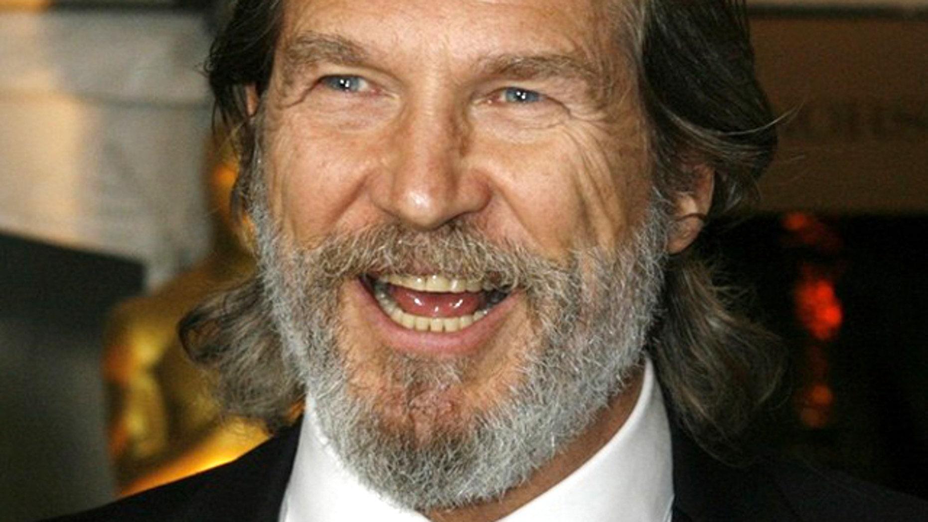 Actor Jeff Bridges