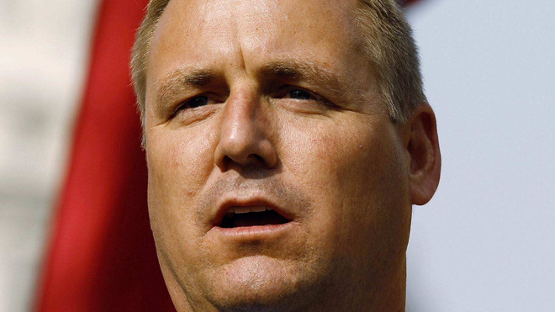 Rep. Jeff Denham (R-CA) addresses a rally on November 15, 2010 in Washington, D.C. His compromise immigration measure was prevented from coming to a vote by GOP leadership. (Photo by Chip Somodevilla/Getty Images)