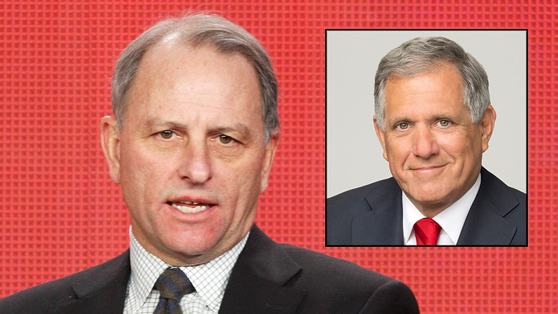 """""""60 Minutes"""" EP Jeff Fager is accused of """"allowed harassment in the division"""" in a bombshell feature on CBS boss Leslie Moonves [inset]."""