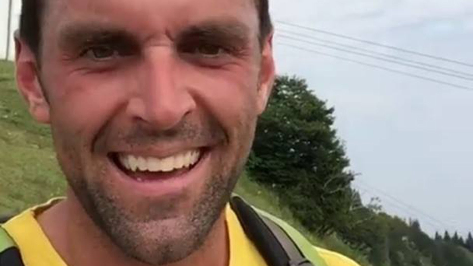 The body of Jeff Freiheit, 32, was located, three weeks after he went missing while hiking in the Balvarian Alps.