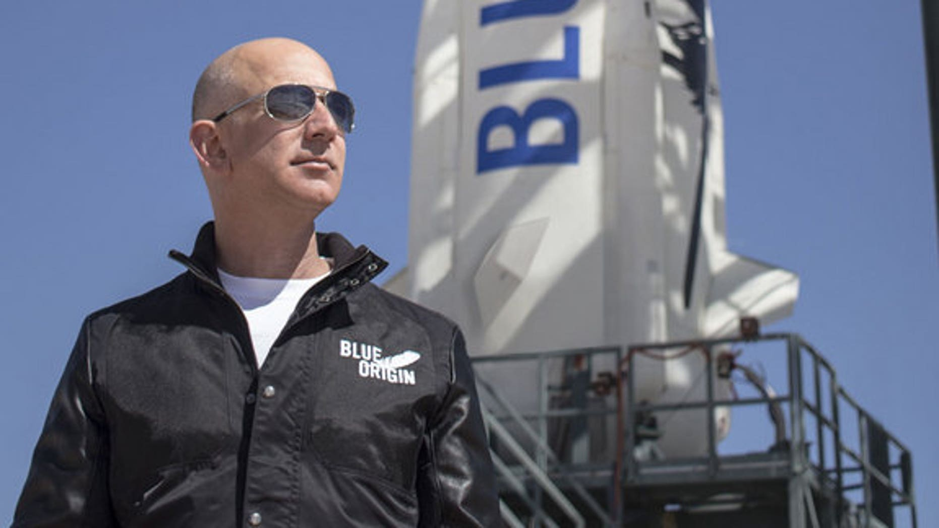 Jeff Bezos, the billionaire founder and CEO of Amazon.com, is also the founder of the private commercial spaceflight company Blue Origin.