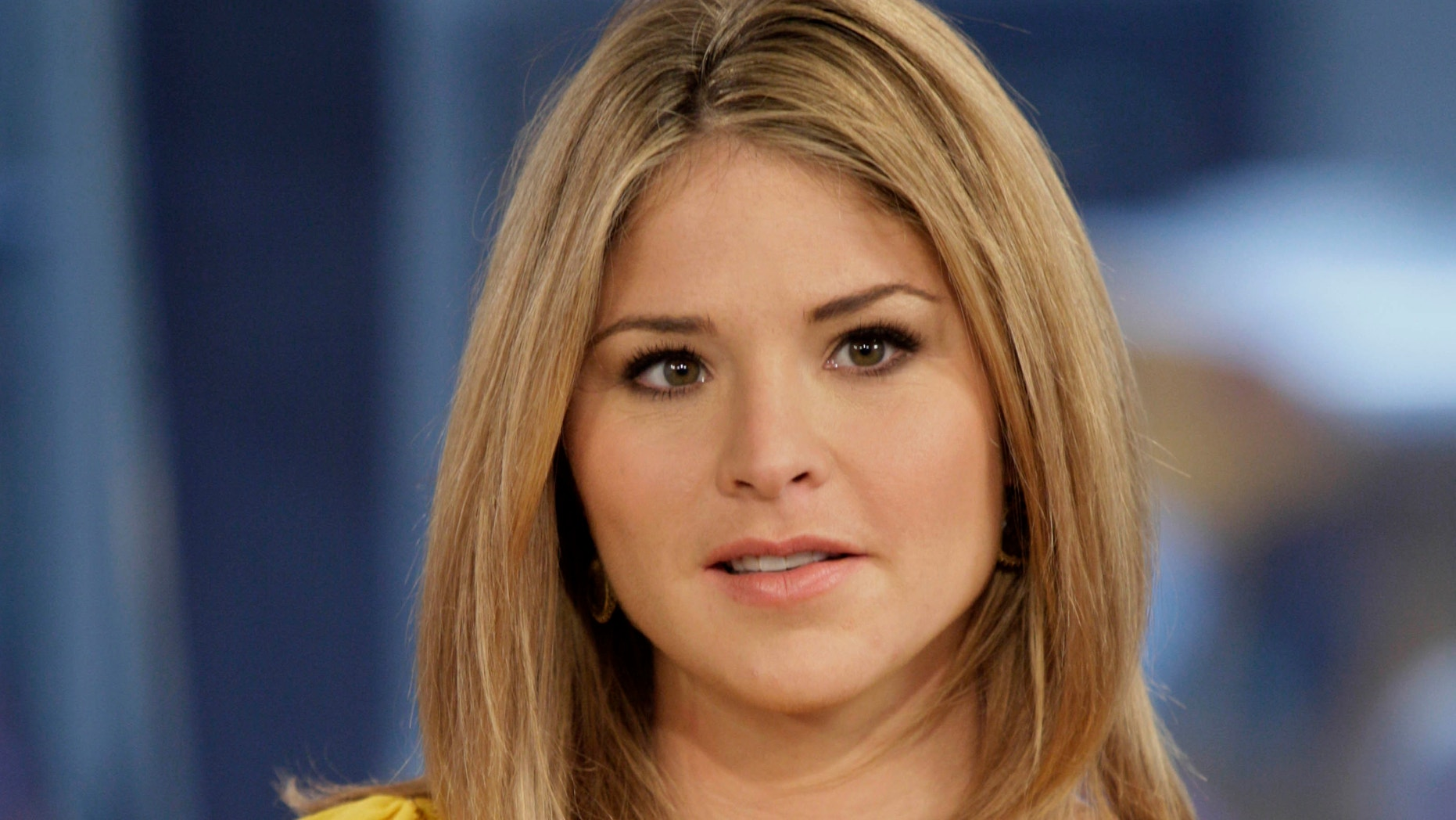 "In this Oct. 8, 2009 file photo, Jenna Bush Hager, special contributor for the NBC ""Today"" television program, appears on the show in New York."