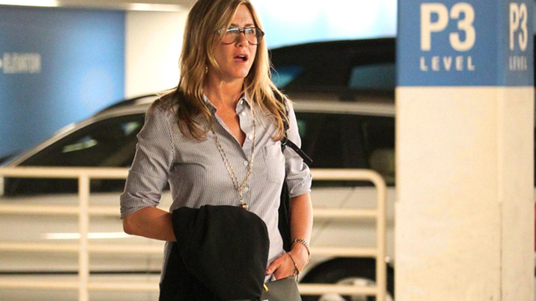 Jennifer Aniston in Beverly Hills, Calif.