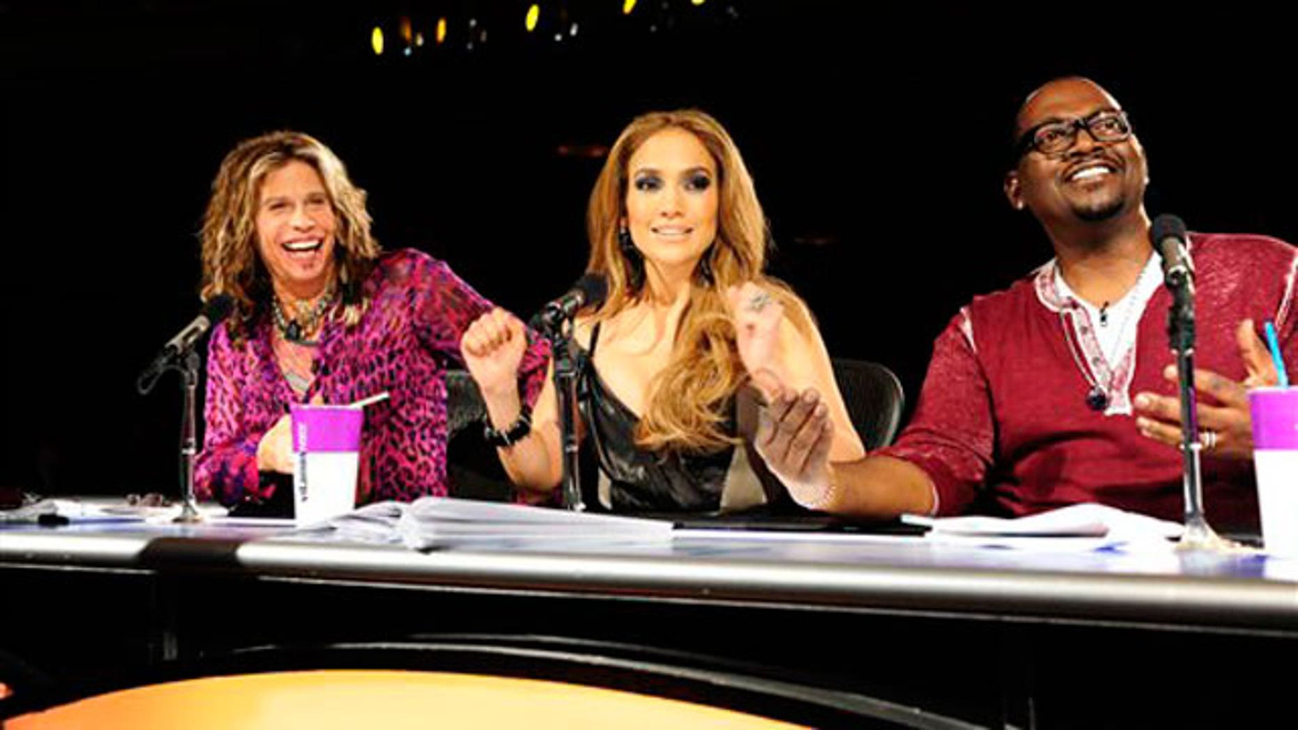 """American Idol"" judges Steven Tyler, Jennifer Lopez and Randy Jackson. (AP)"
