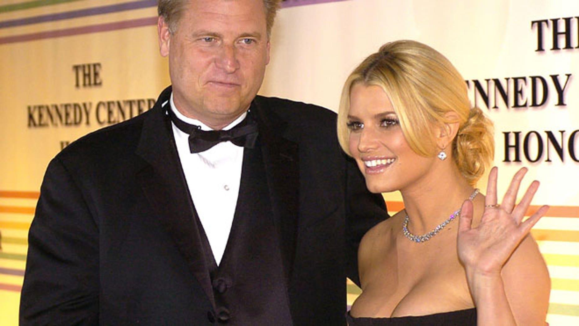 FILE: Joe Simpson and Jessica Simpson in 2006.