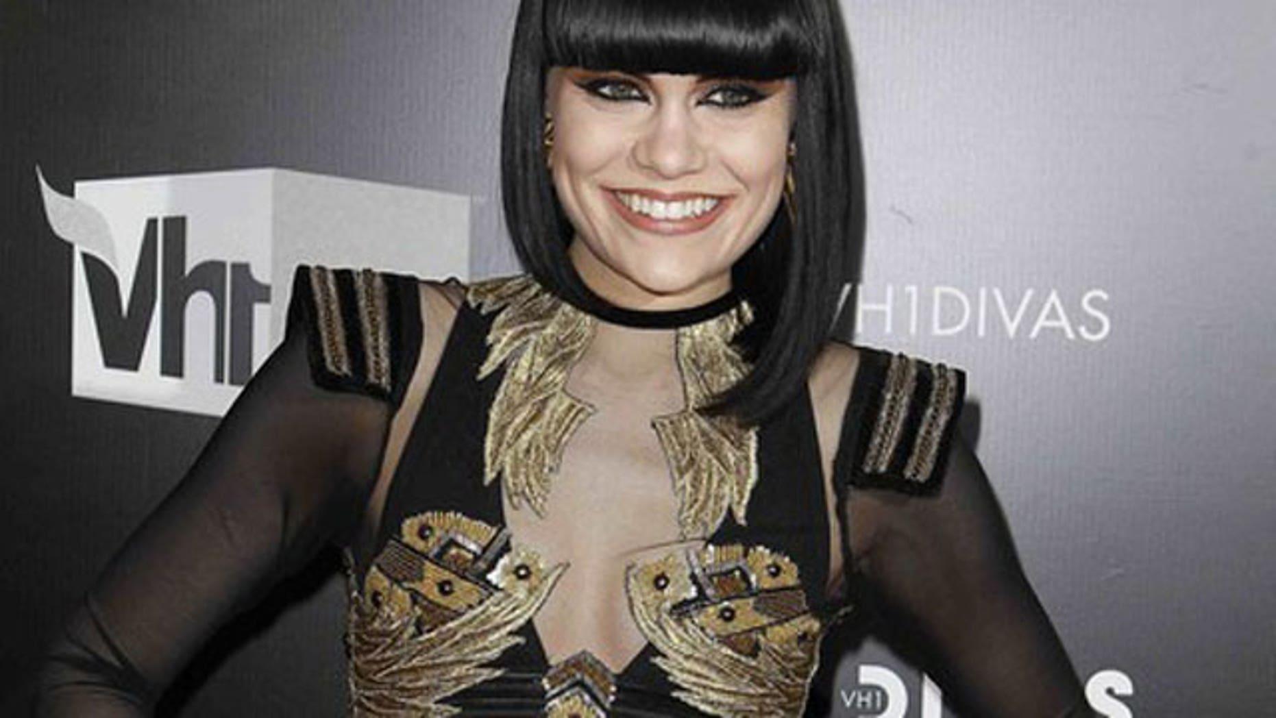 Dec. 18: Jessie J at the Vh1 Divas concert. (Reuters)