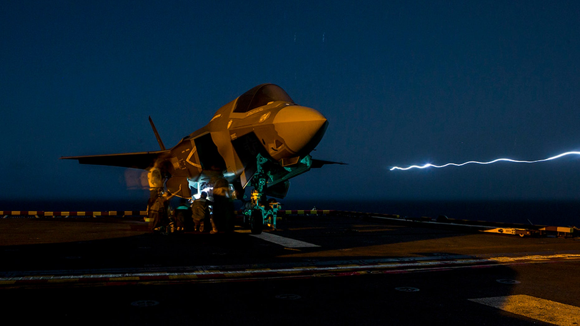 stealthy f 35 fighter sees 1st combat action fox news