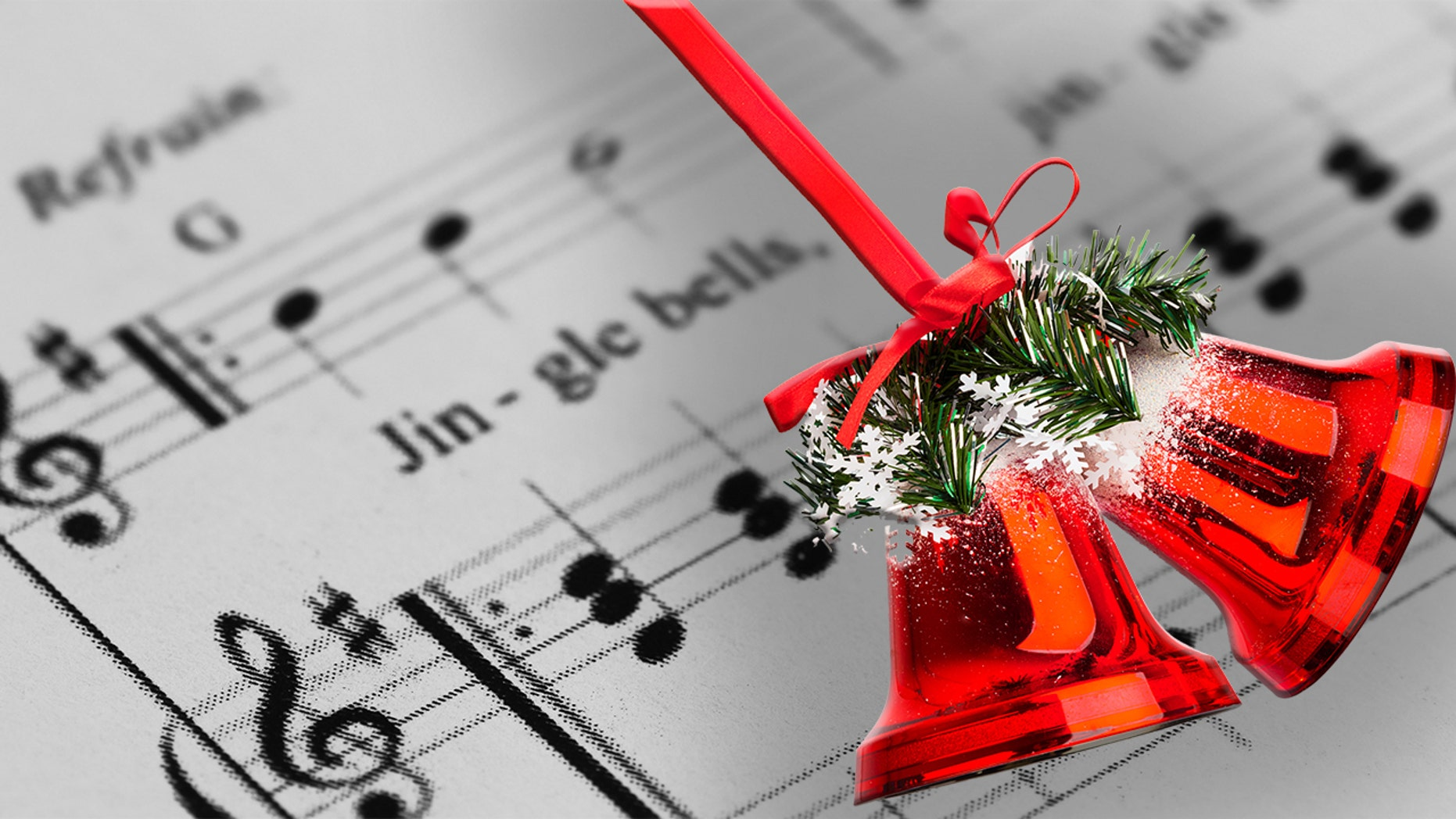 Christmas Music Images Black And White