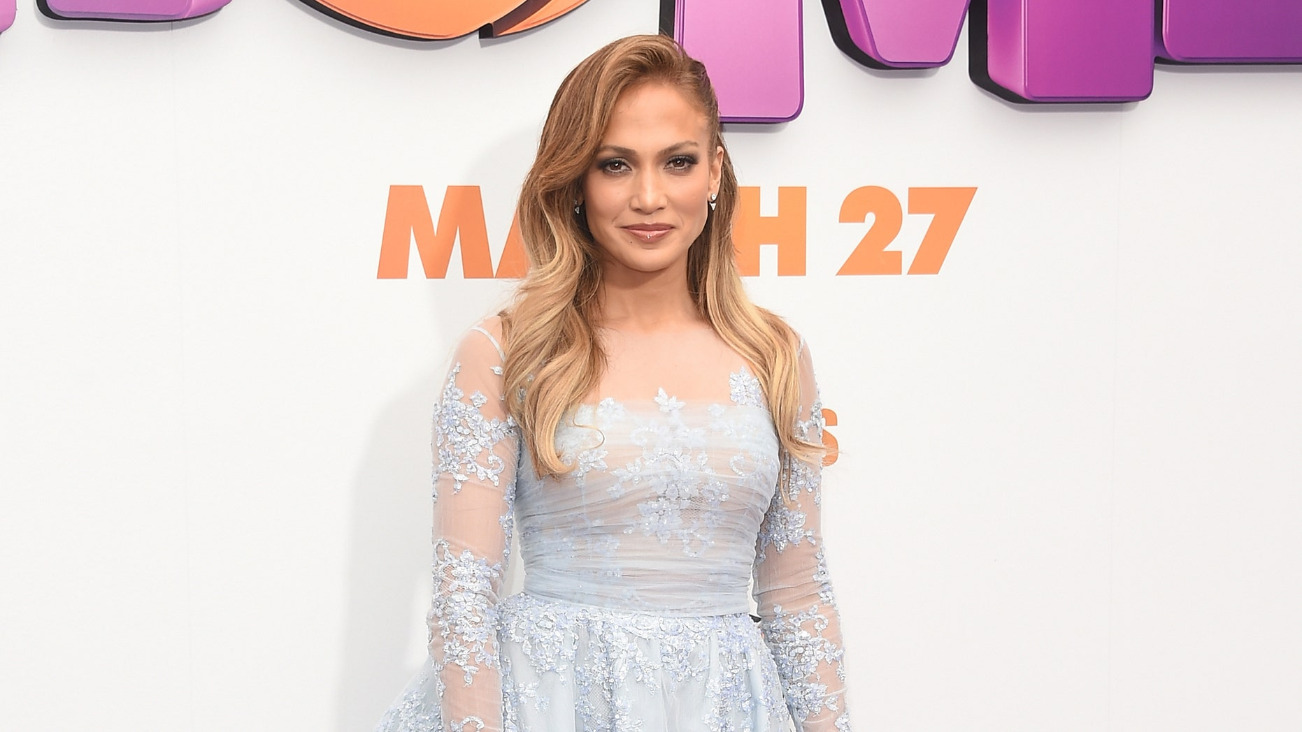 Jennifer Lopez at Regency Village Theatre on March 22, 2015 in Westwood, California.