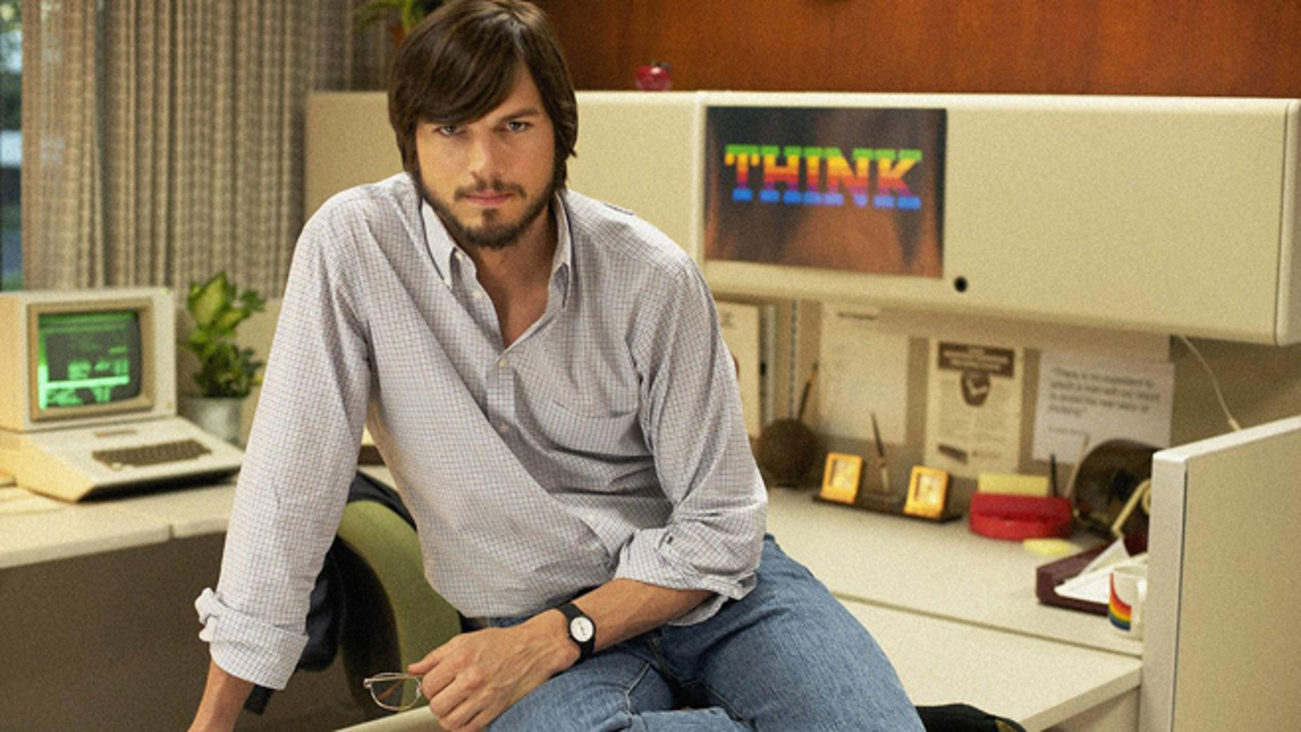 """Ashton Kutcher is better than you might think in the movie """"Jobs"""" ... but he's just so angry."""