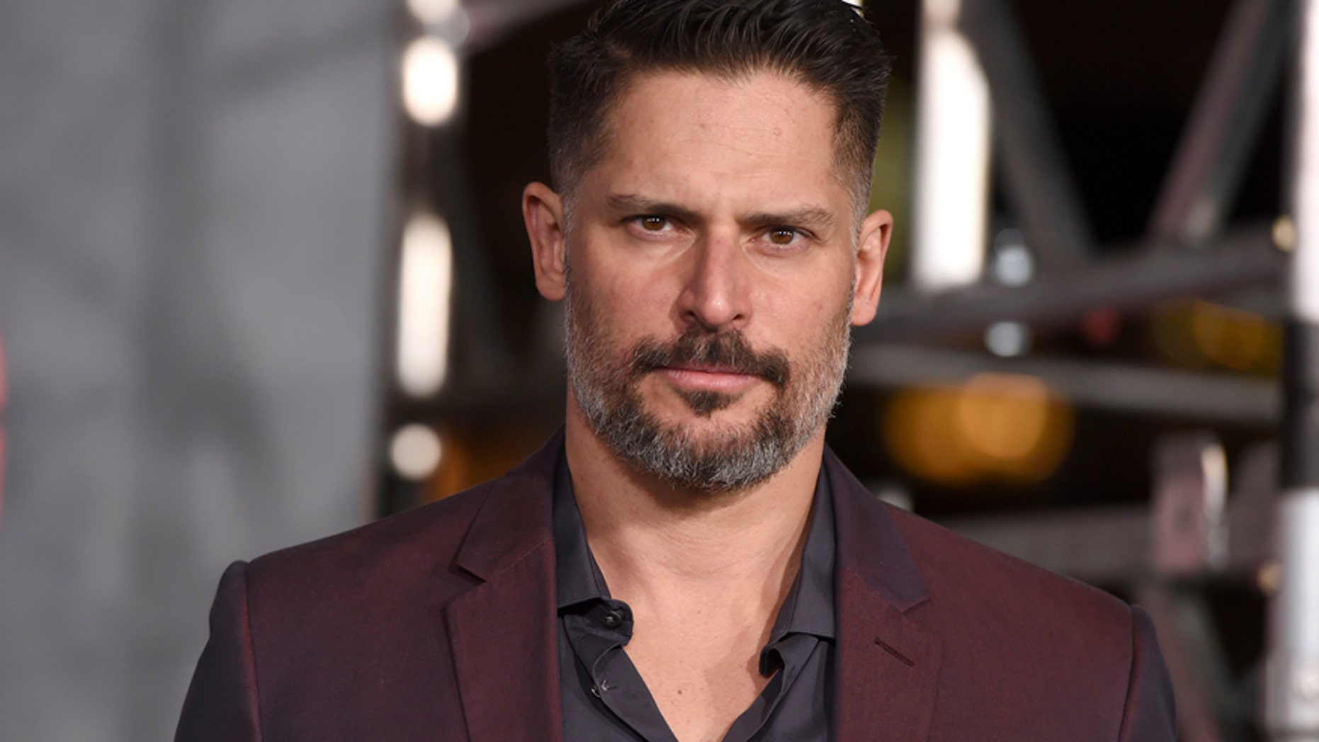 """Joe Manganiello arrives at the Los Angeles premiere of """"Kong: Skull Island"""" at the Dolby Theatre on Wednesday, March 8, 2017."""