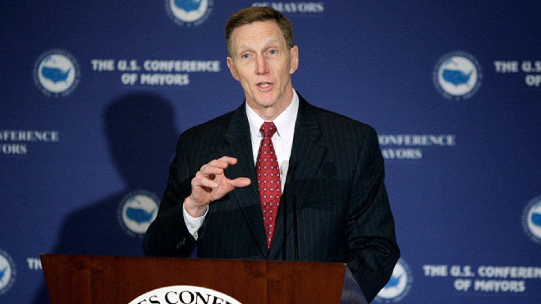 U.S. TSA Administrator John Pistole in Washington, January 18, 2013.