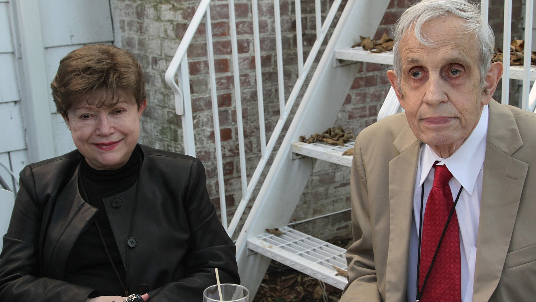 EAST HAMPTON, NY - OCTOBER 05:  John Nash and wife Alicia Nash attend the Nobel Laureate Exhibition Reception during the 20th Hamptons International Film Festival at The Maidstone Hotel on October 5, 2012 in East Hampton, New York.  (Photo by Sonia Moskowitz/Getty Images)