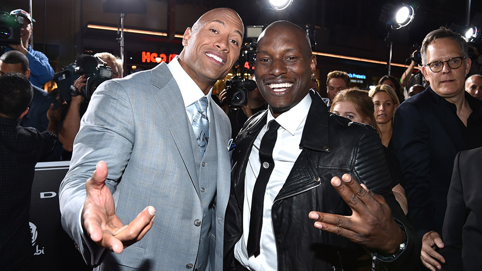 Dwayne Johnson said he sees no reason to talk to Tyrese Gibson following their feud.